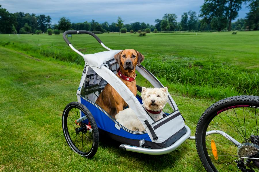 Vozík za kolo pro psa XLC Mono
